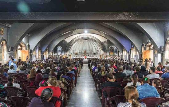 Kyrkja i Irak vert gjenreist