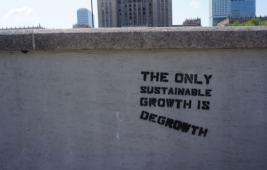 – Jesus setter en grense for økonomisk vekst
