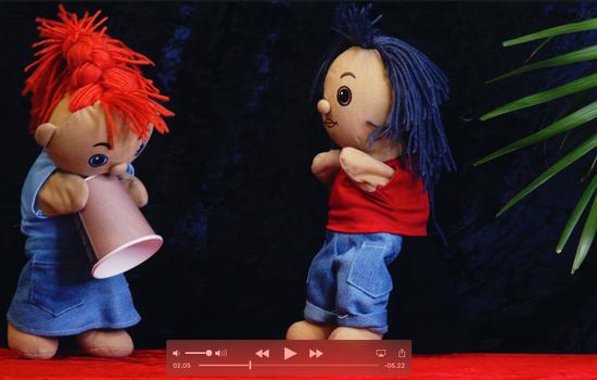 Arrangerer Søndagsskole-samling på YouTube